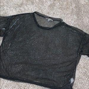Sheer t shirt